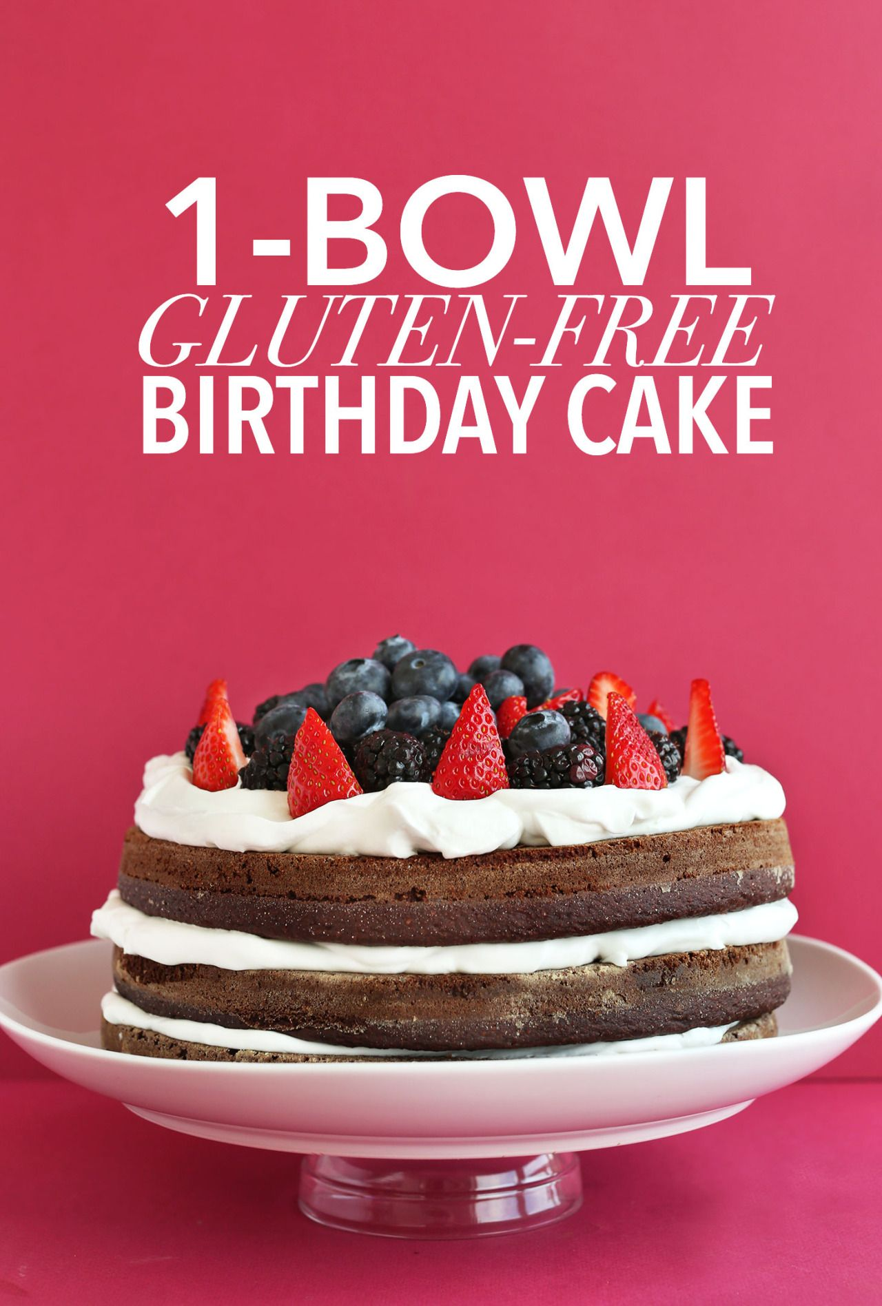 Via Gluten Free Birthday Cake