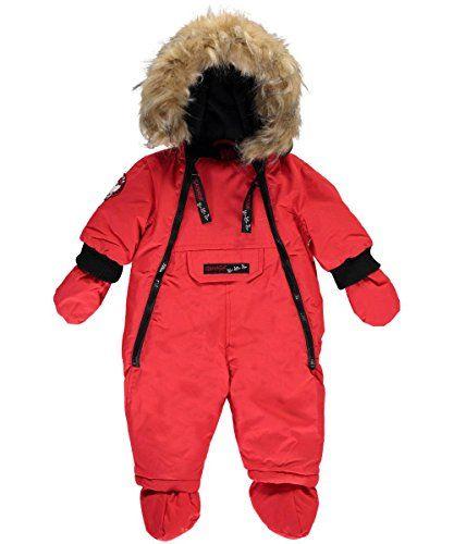 CANADA WEATHER GEAR Baby Girls 1-Piece Snowsuit