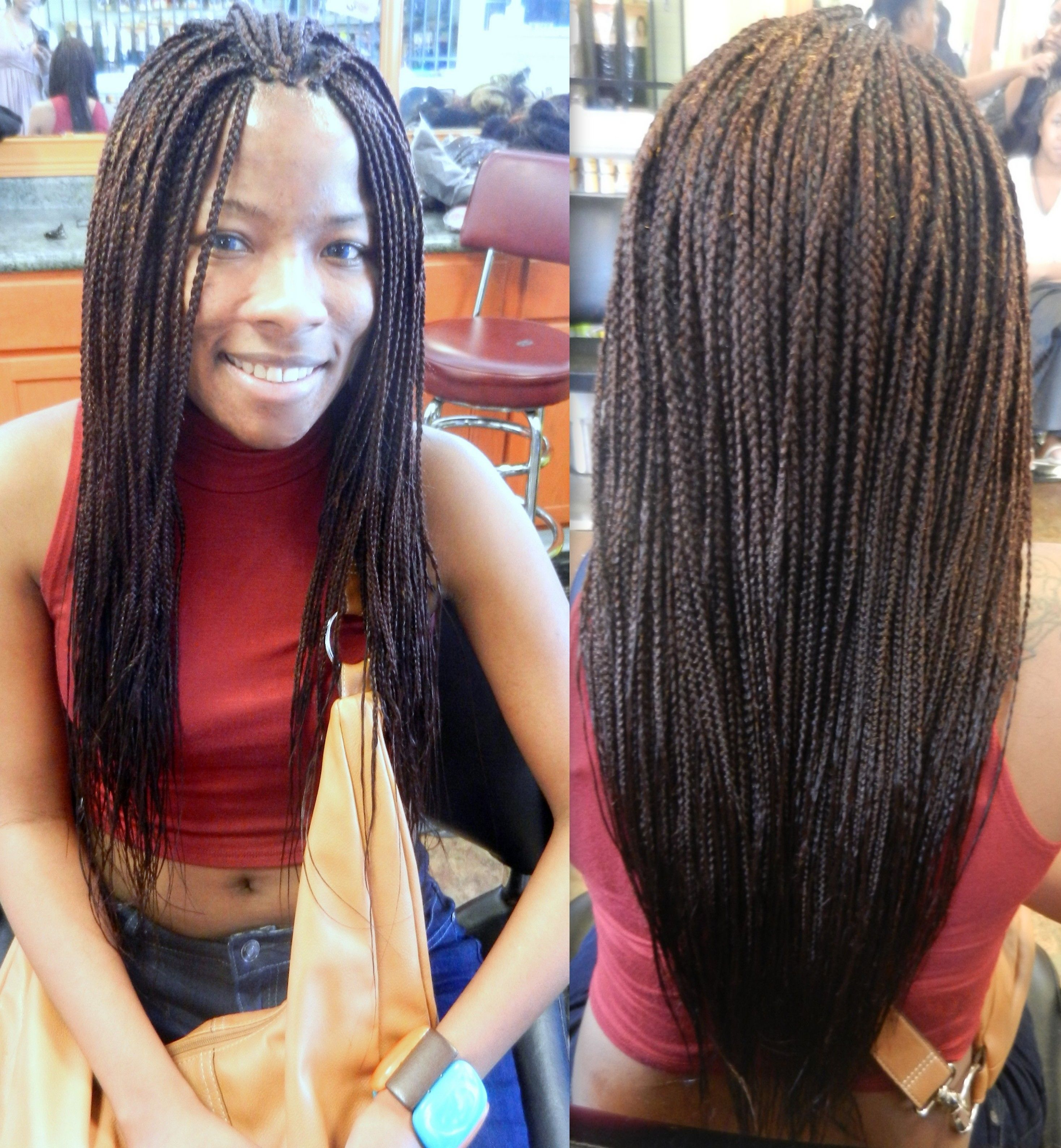 Phenomenal Single Braids W Color Hairstyles Pinterest Hairstyle Inspiration Daily Dogsangcom