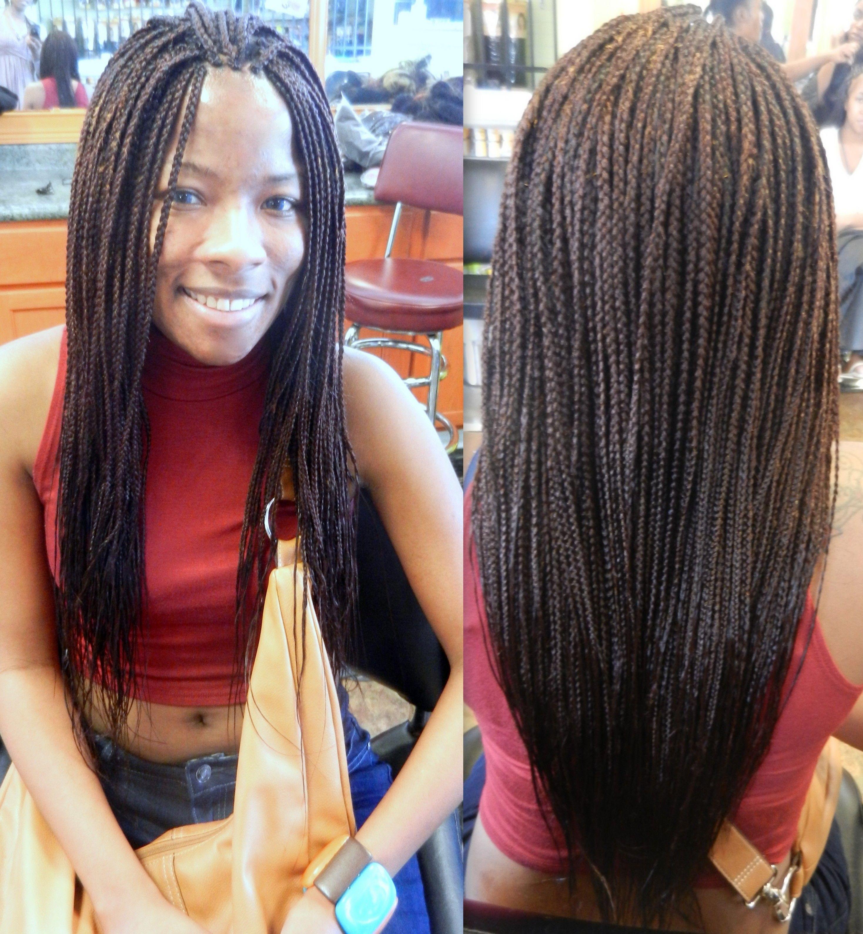Single Braids or Box Braids | Braiding Ideas | Pinterest