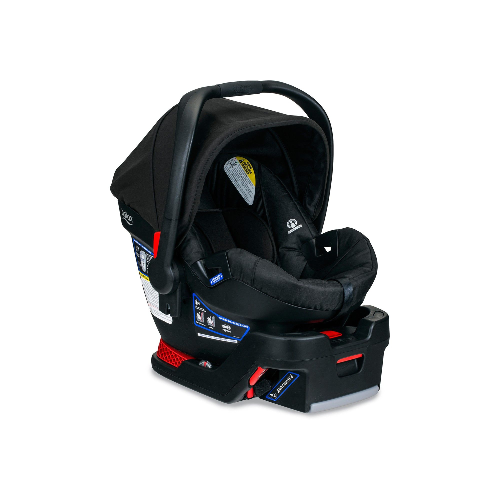 Britax BSafe 35 Infant Car Seat Raven Safest car seat
