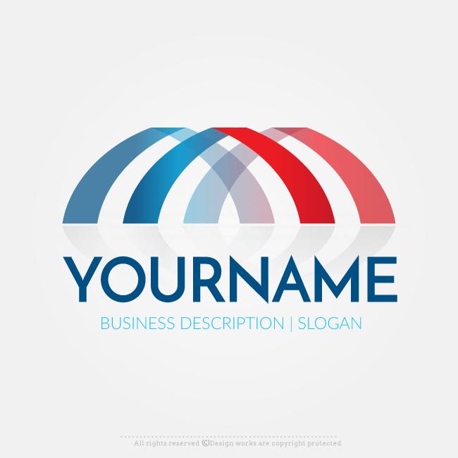 online free logo maker abstract bridge logo design great