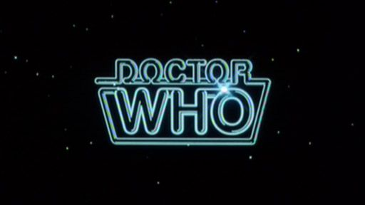 The Doctor Who Logo 1980 84 Doctor Who Logo Fifth Doctor Doctor Who Episodes