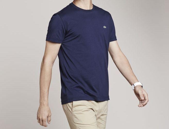 7dcce0b44e New Lacoste Tall Men's Jersey Crewneck T-Shirt NWT Mens Size 10L sz ...