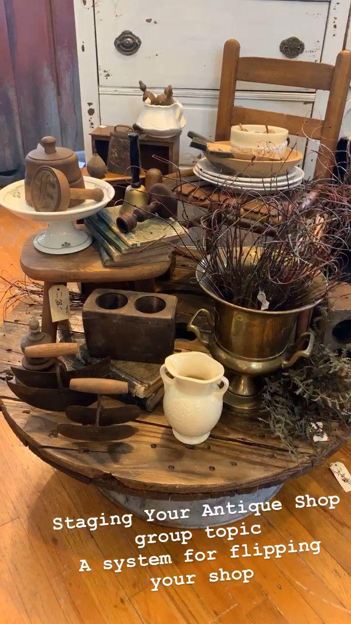 Staging Your Antique Shop