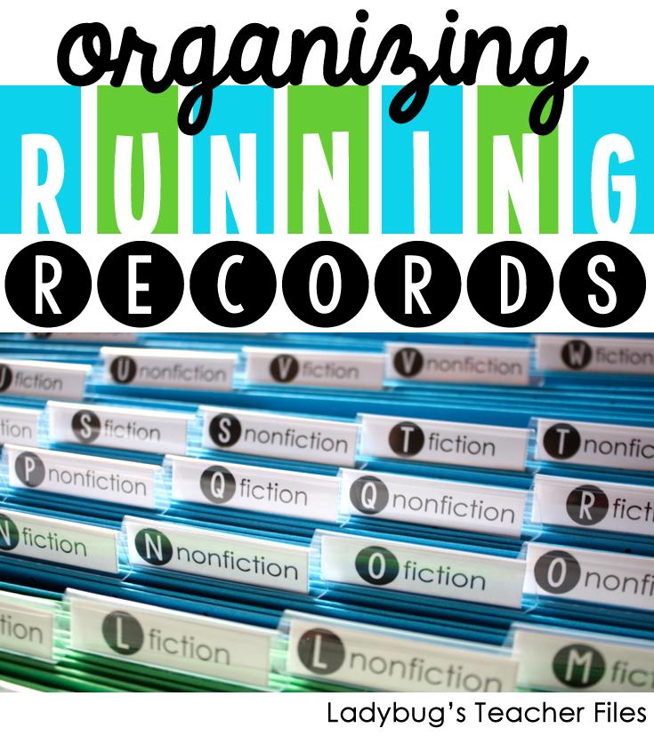 Organizing Running Records