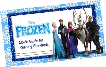 frozen movie reading review standards worksheets reading and