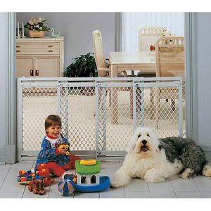 North States Plastic Supergate V Extra Wide Child And Pet Gate