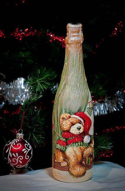 Картинки для декупажа бутылок вина 178