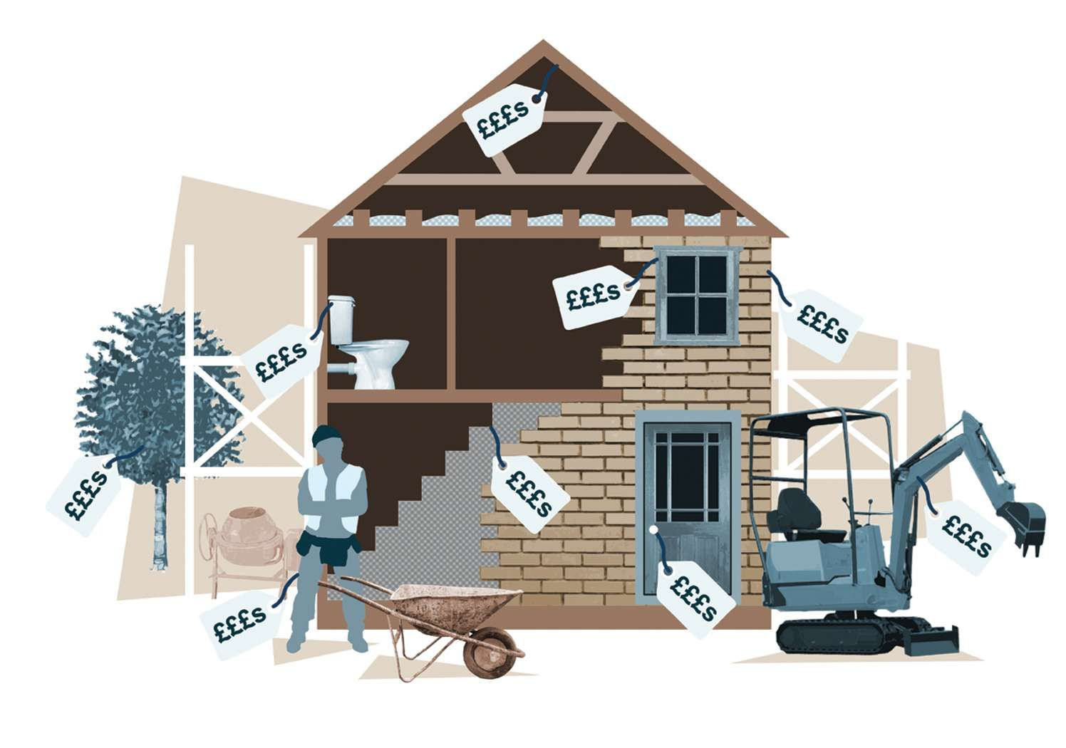 How much does it cost to build a house home renovation