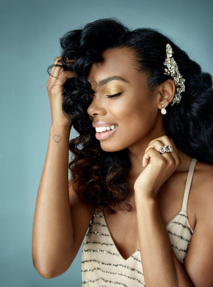 5 Fresh Bridal Hair And Makeup Looks Bride Hairstyles Black