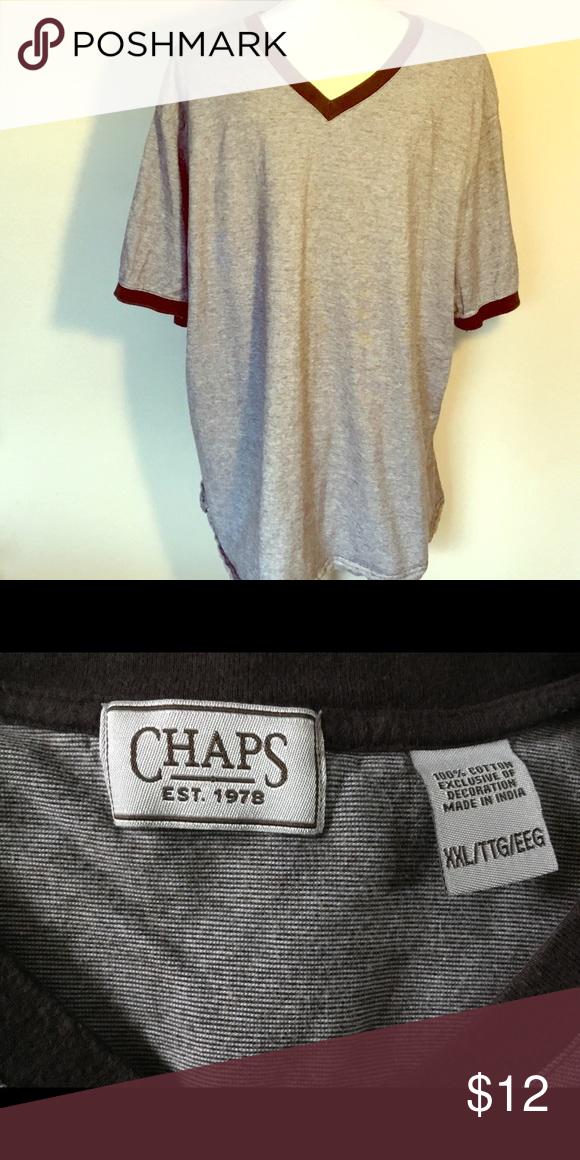Men's Chaps Shirt XXL Shirt style, Chaps, Chaps shirts