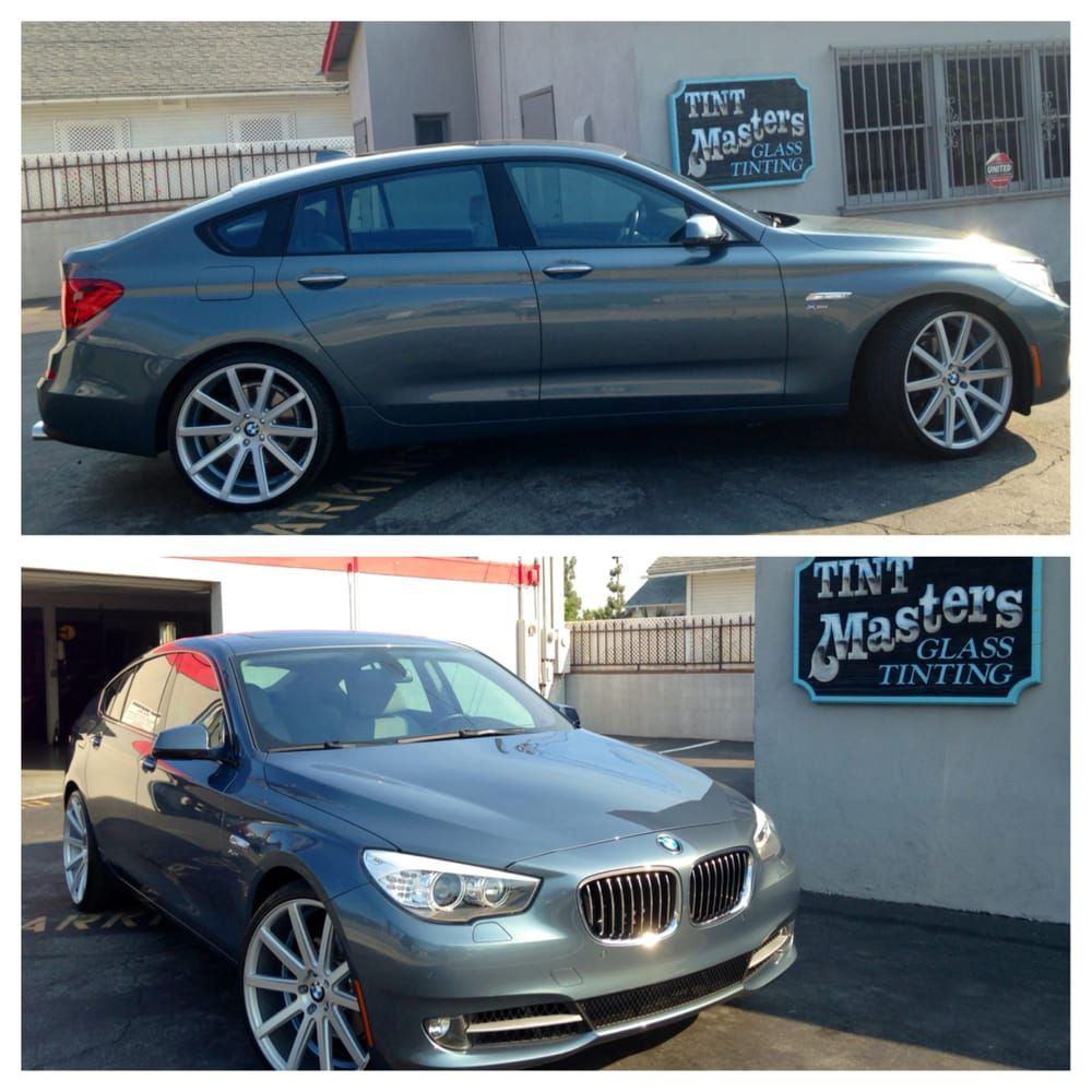 2011 Bmw 535i Gt Tinted With 3m Crystalline 70 On The Entire
