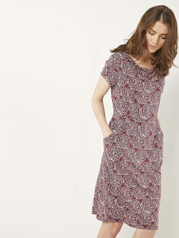 Fat Face Ava Bali Dress, Phantom (66 AUD) ❤ liked on Polyvore ...