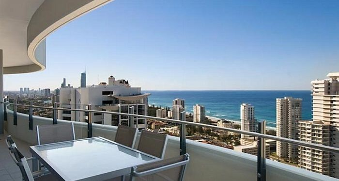 Sub Penthouse Apartments At The Wave Resort Broadbeach Gold Coast