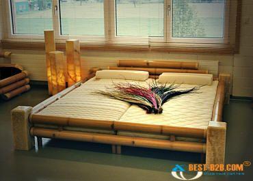 Bamboo Bed 3 Mobiliario De Bambu Fonte De Bambu Moveis