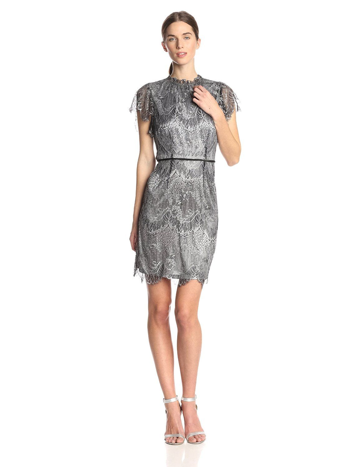 fc4bf335225 Lace Cocktail Dress by Adrianna Papell