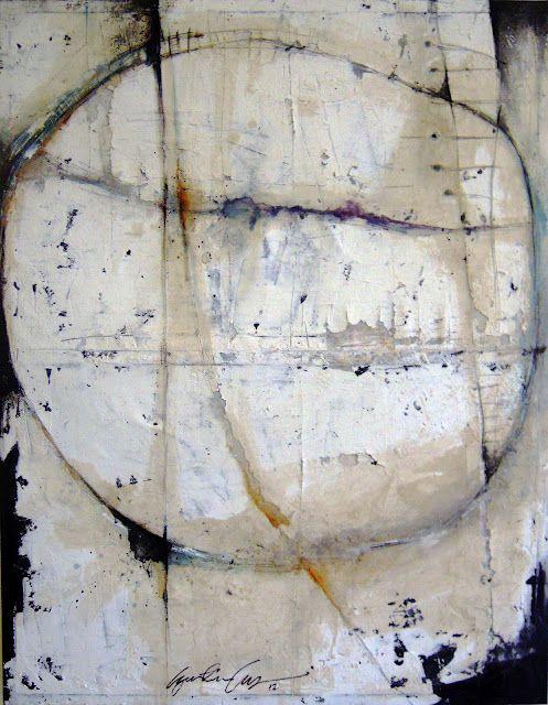 Agustin Castillo - Abstract No.417, 85x110 cms, mixed media. 2012…