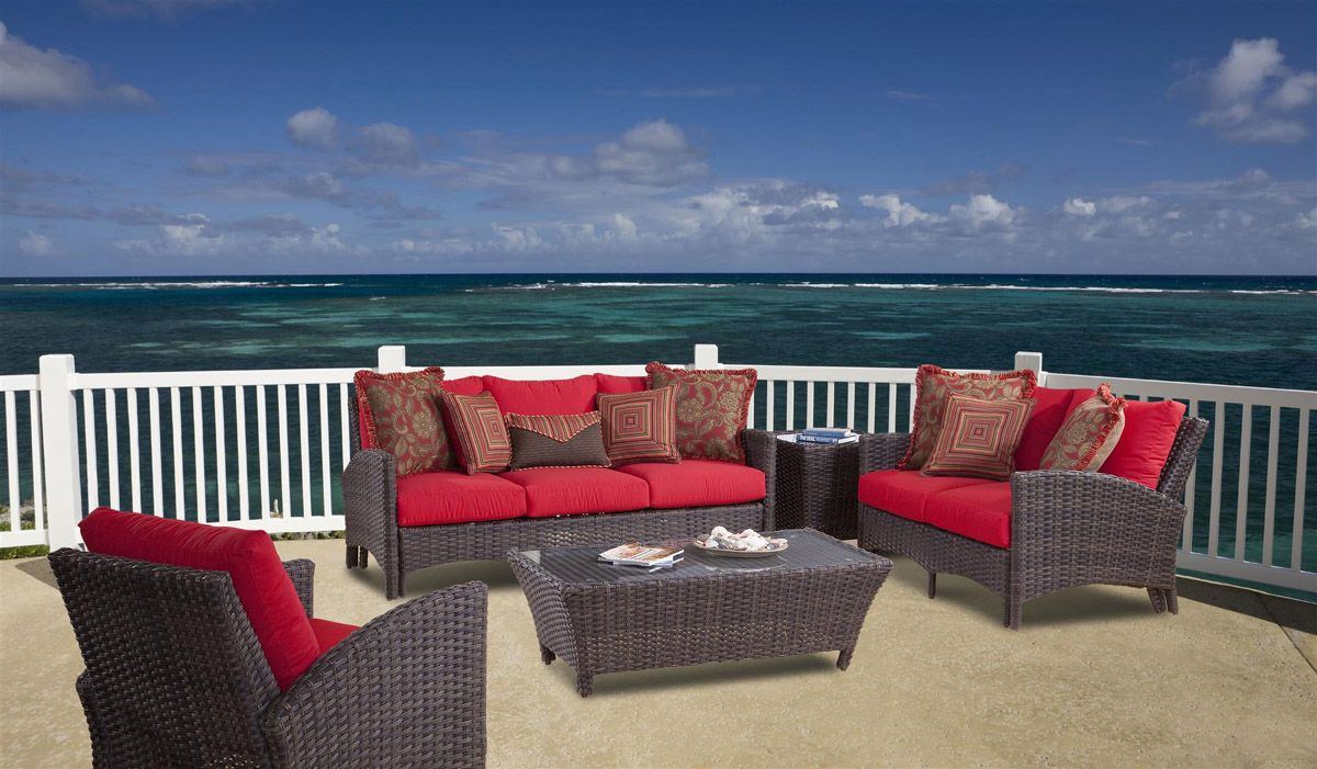 Exceptionnel Panama Patio Wicker Furniture Collection From South Sea Rattan