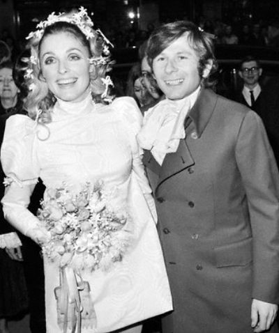 Roman Polanski And Sharon Tate On Their Wedding Day