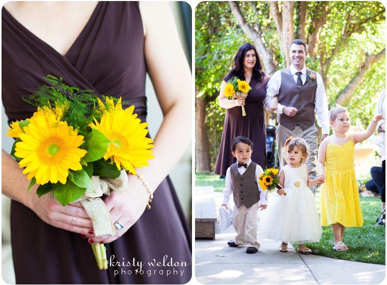 #gold #sunflower #yellow #brown #wedding   Matrimony ...