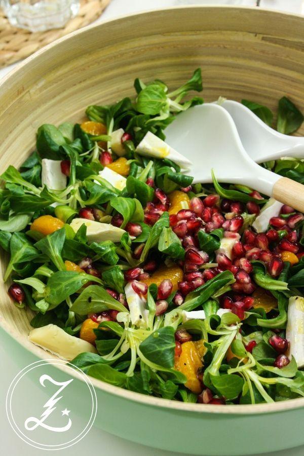 Honig Senf Sauce Salat : herbstlicher salat mit honig senf dressing ~ Watch28wear.com Haus und Dekorationen