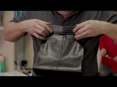 """""""Клатч-пакет"""". Мастер-класс по изготовлению сумки из натуральной кожи - YouTube"""