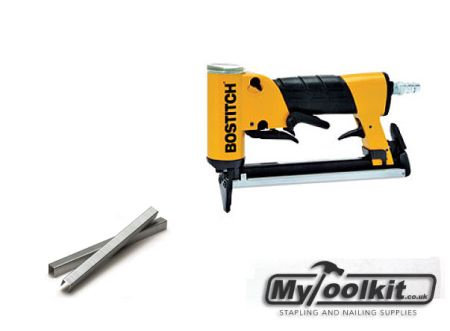 Another Air Operated Fine Wire Upholstery Stapler From Stanley