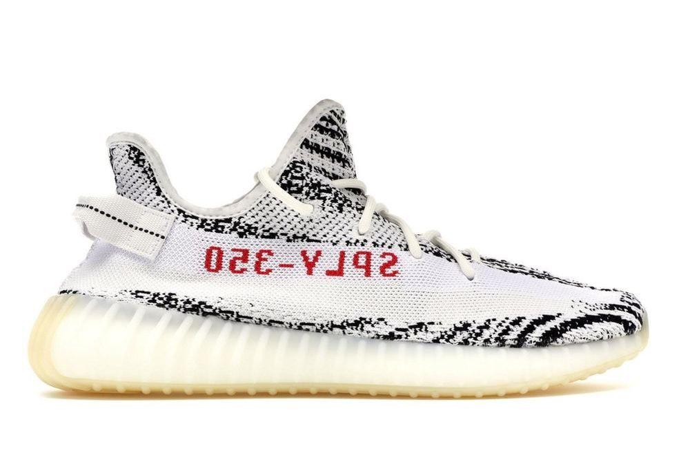 adidas Yeezy Boost 350 V2 Zebra Shoes Kanye West Sizes 4