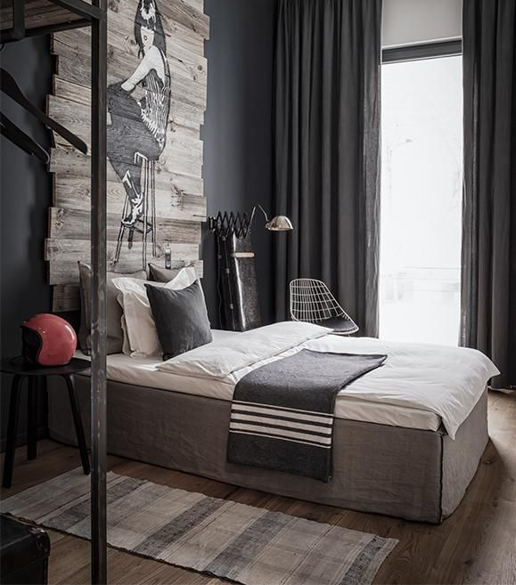 30 Stylish And Contemporary Masculine Bedroom Ideas: Masculine In Berlin