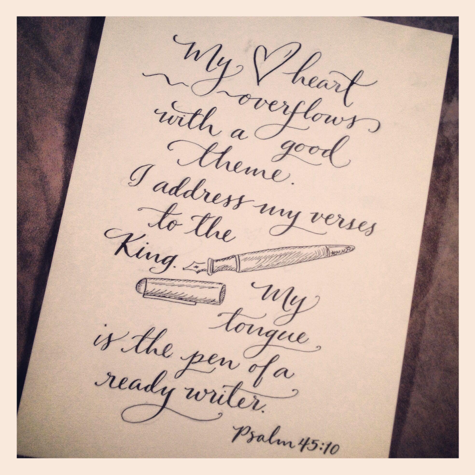 Psalm 45 1