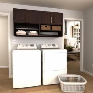Modifi Horizon 105 In W White Laundry Cabinet Kit Enl105