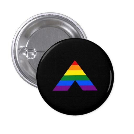 Lgbt Straight Ally Pyramid Symbol Button Pinterest Lgbt Symbols