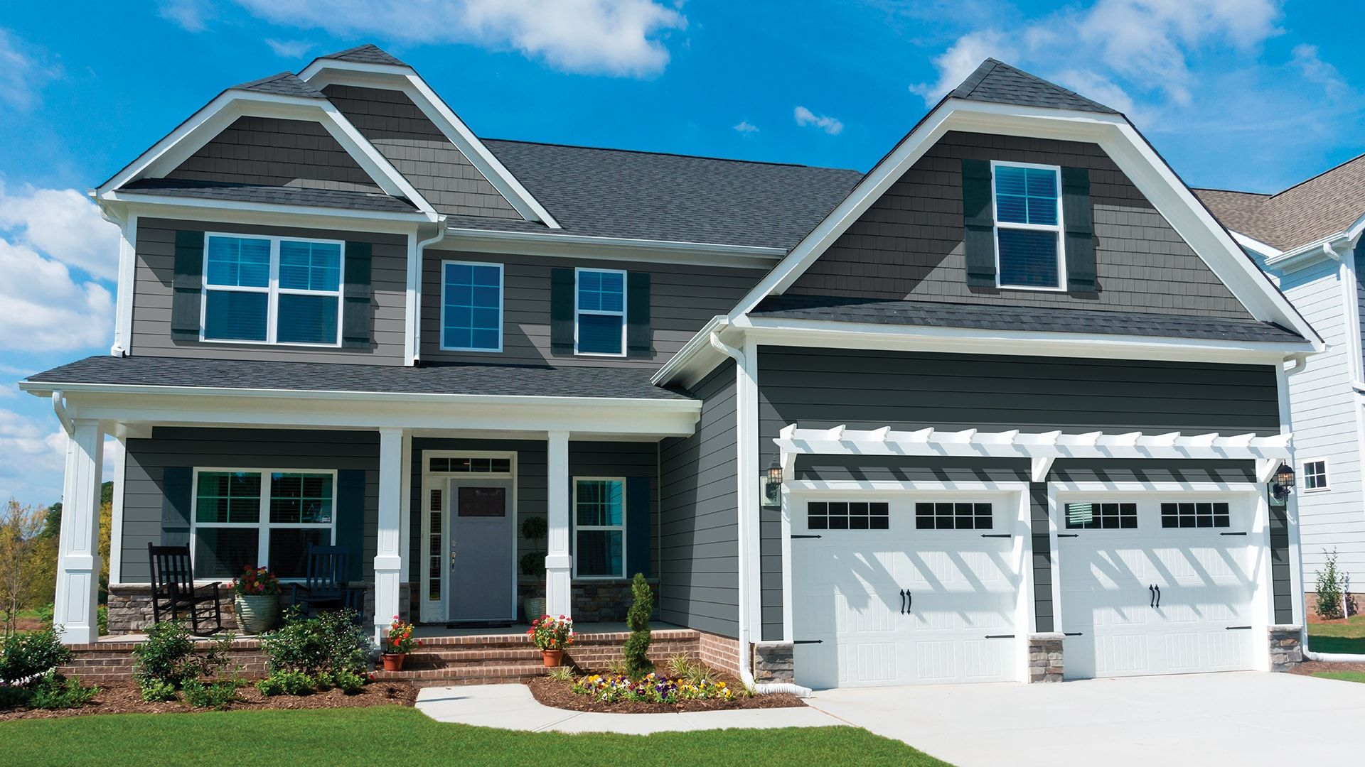 Gallery Royal Building Solutions Royal Haven D7 In Storm Midnight Surf House Siding Insulated Vinyl Siding Blue Siding