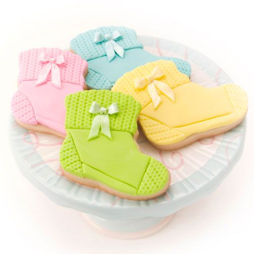 Baby Sock Cookies