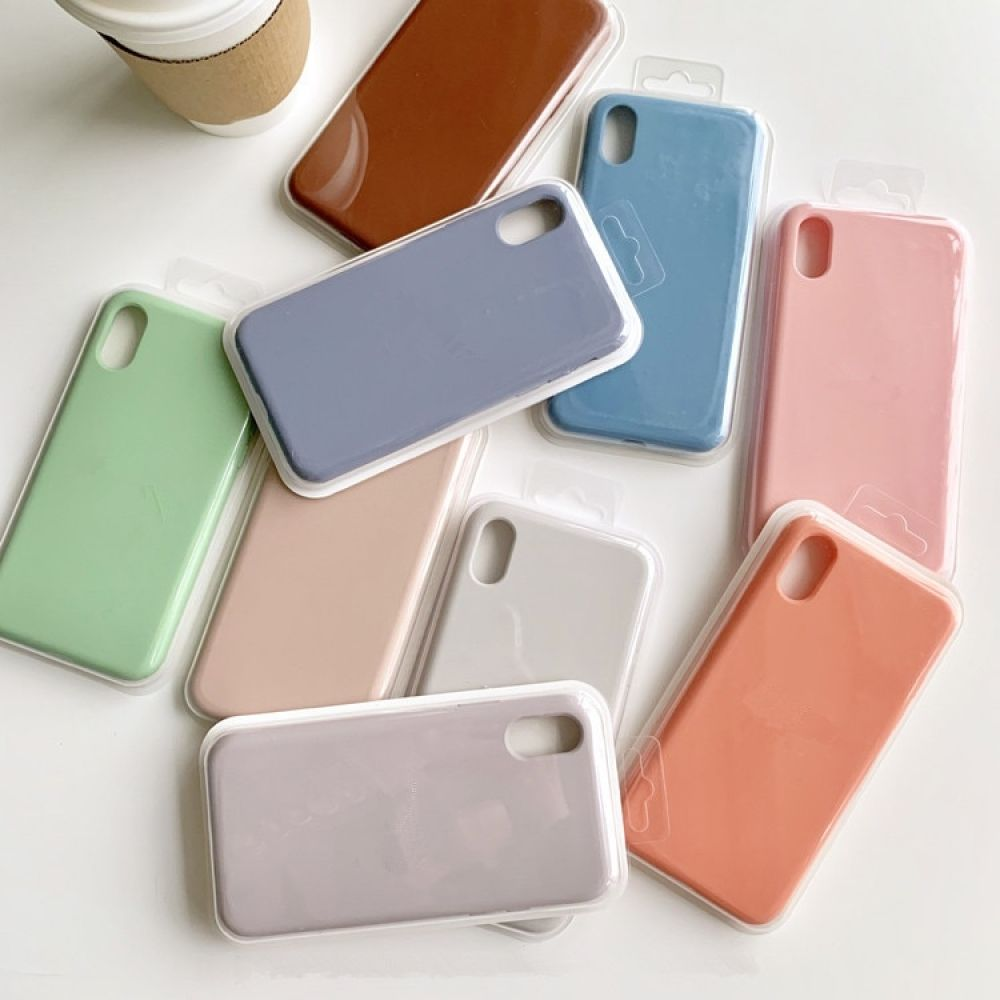 Original official silicone liquid case for iphone x xs max