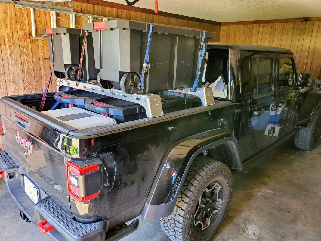 Jeep Gladiator M.A.S.S. Bed Rack Low Height Jeep
