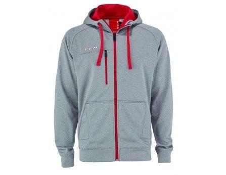CCM Team Premium Full Zip Fleece Hoodie Senior - www.jerryshockey ... e59350ee2