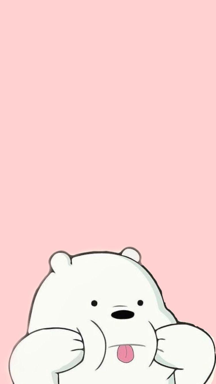 Pink Wallpaper Ilustrasi Karakter Kartun Kartu Lucu