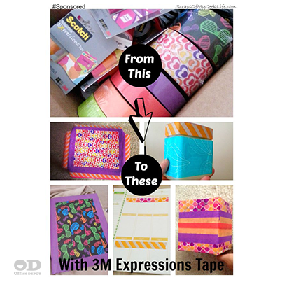 Brighten Up Anything With 3M Scotch Expressions Tape From ...