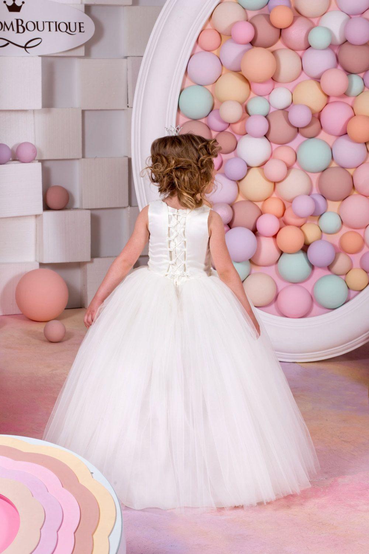 Marfil tul boda de Dama de honor fiesta fiesta cumpleaños | vestidos ...