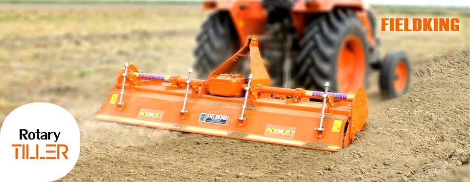 Fieldking is market leader in Tiller manufacturer in India