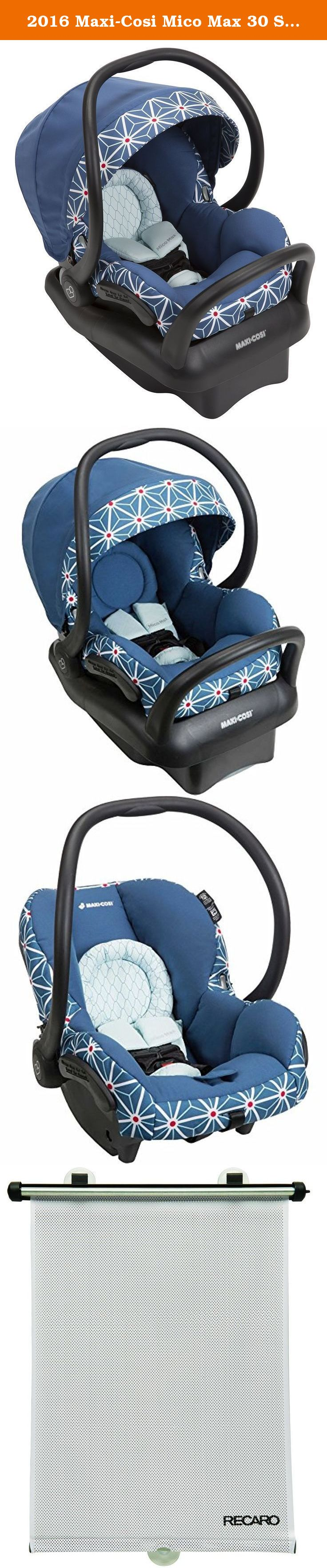 2016 Maxi Cosi Mico Max 30 Special Edition Infant Car Seat Star By Edward