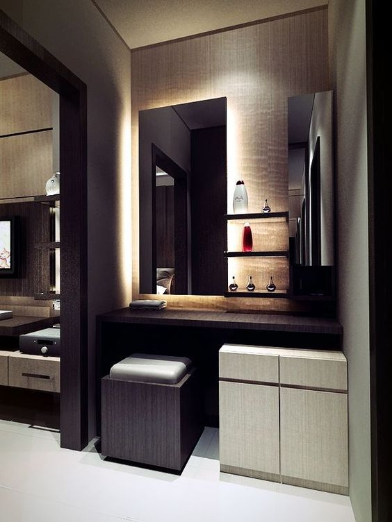 Bedroom Designs With Attached Bathroom And Dressing Room 35 modern wardrobe furniture designs | solid wood wardrobes