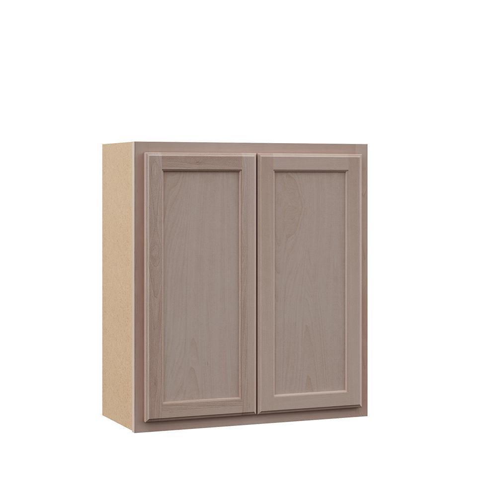 Hampton Bay Hampton Assembled 27x30x12 In Wall Cabinet In