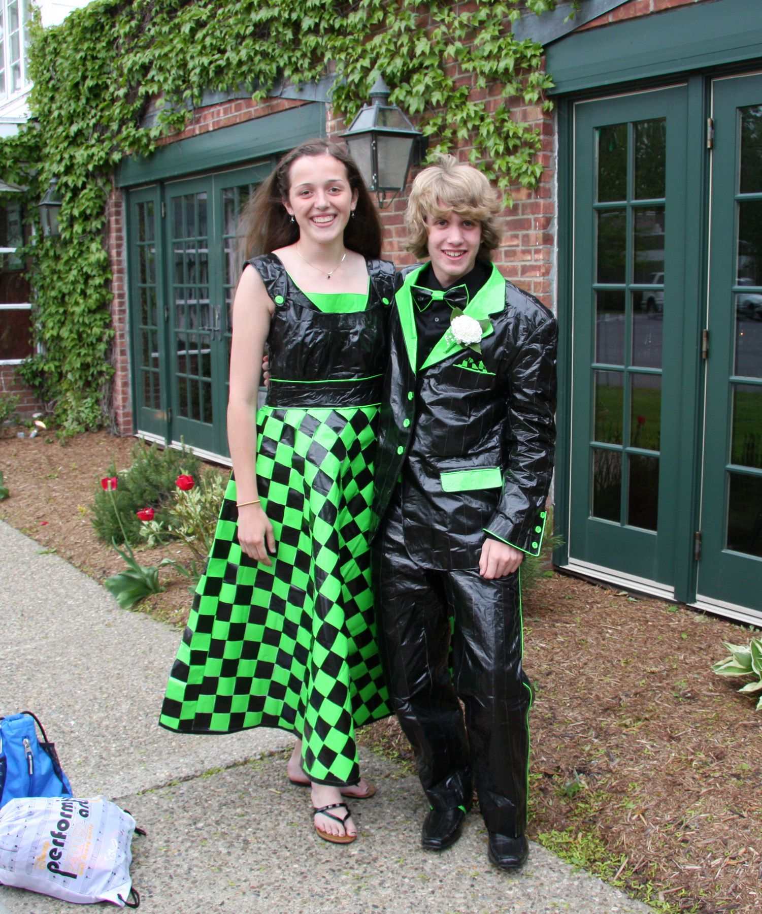 Duct tape prom dress! | Duck Tape Clothing | Pinterest | Duct tape ...