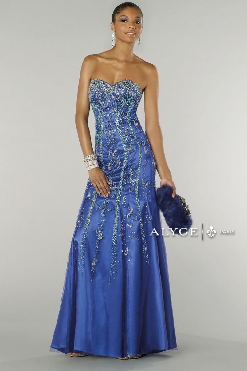 Alyce paris prom dress style full view omg prom nite