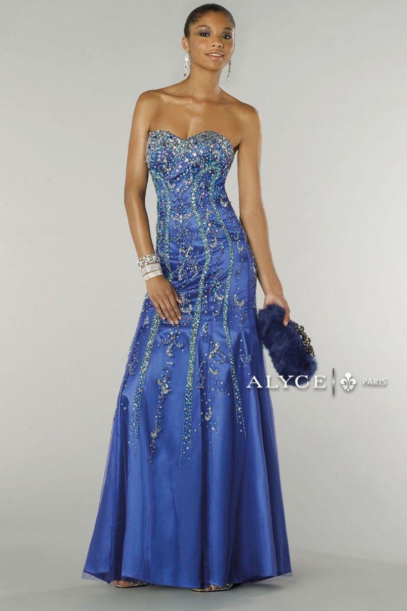 Alyce paris prom dress style full view omg prom nite
