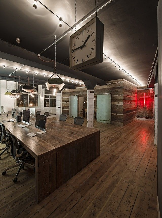 El estudio de dise o interior 44a colina han completado for Diseno de oficinas