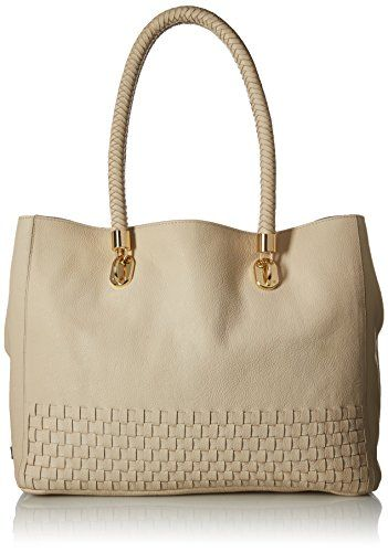 Cole Haan Benson Novelty Tote Oat *** You can find out more details at the link of the image.Note:It is affiliate link to Amazon.